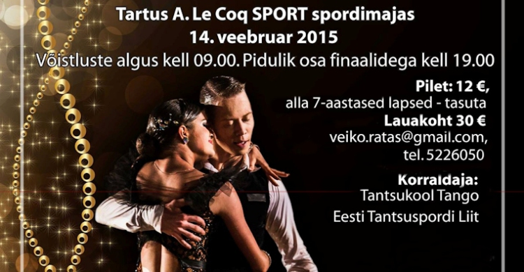 Estonian Championships in Latin 2015