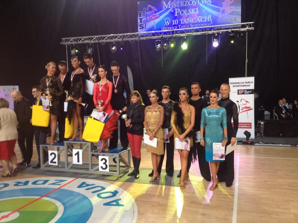 Armand Fazullin and Klaudia Iwańska won the 1st place at the Polish Championships in 10-dance of 2015