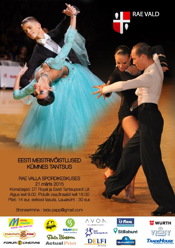 Estonian Championships in 10 dances 2015