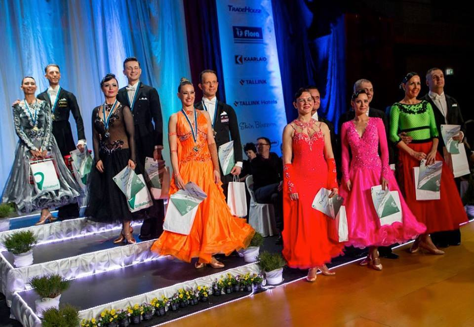 Estonian Championships of 2015 in 10 dances: double victory