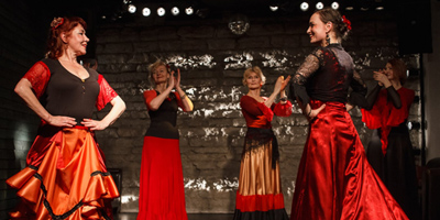 Flamenco dance for the beginners - new course starts from 06.09.18